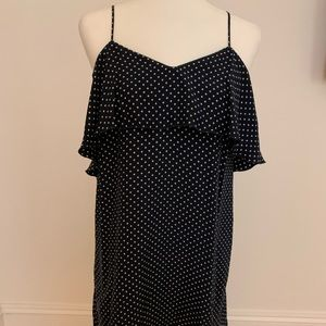 ATM Polka Dot tank top dress